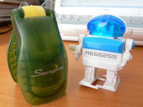 bot and Swingline stapler
