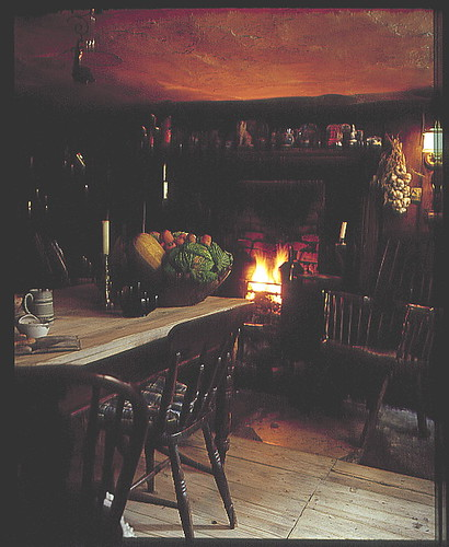 Dennis Severs' House - Kitchen