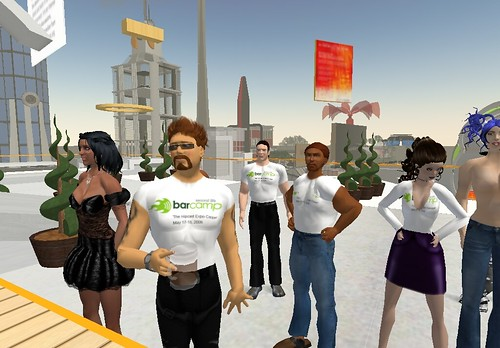 making tshirts in Second Life