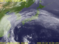 Typhoon Chanchu hits south China