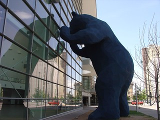 Big Blue Bear: Colorado Convention Center, Denver