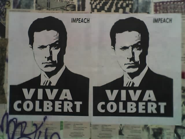 Right On Target: Colbert vs. The (Network) World.