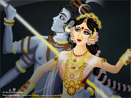 Wallpaper : The Dance of ShivaSakthi