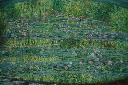 Détail des Nymphéas de Monet