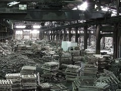 mass production(0.0), scrap(0.0), factory(0.0), industry(1.0), iron(1.0),