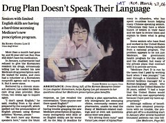 3.27.06 Los Angeles Times 1 by Korean Resource Center 민족학교