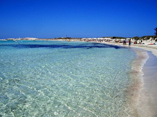 La Playa de Ses Illetes en Formentera