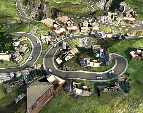 Scalable City design simulation