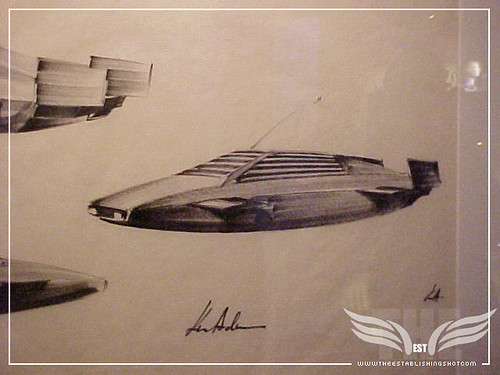 The Establishing Shot: James Bond Exhibition - Submersible Lotus Esprit  concept drawings for The Spy Who Loved Me - Science Museum, London by Craig Grobler