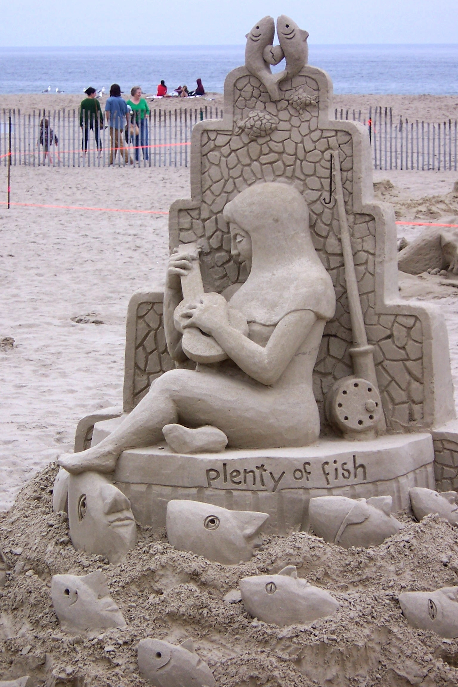 Sand creations plenty of fish flickr photo sharing for Pleny of fish