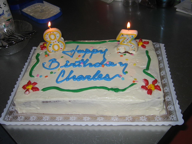 Grandpas Birthday Cake  Flickr - Photo Sharing!