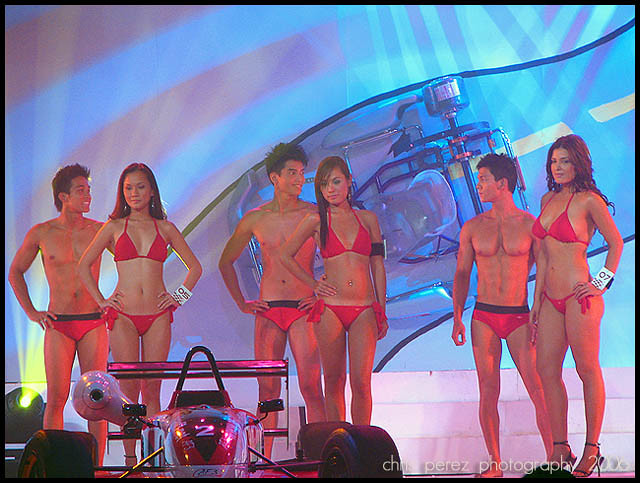 Talk this Bikini contest mossimo