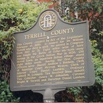 Terrell County Historic Sign