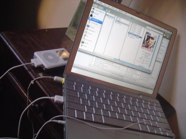 powerbook + ipod