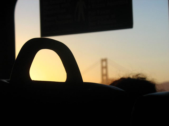 Golden Gate Beyond the Seat