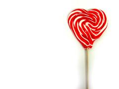 Heart Shaped Lolly