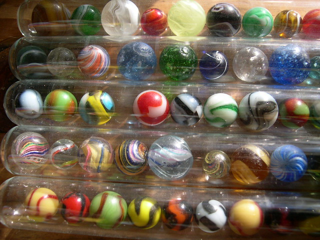 Antique Marbles In Cigar Tubes Flickr Photo Sharing
