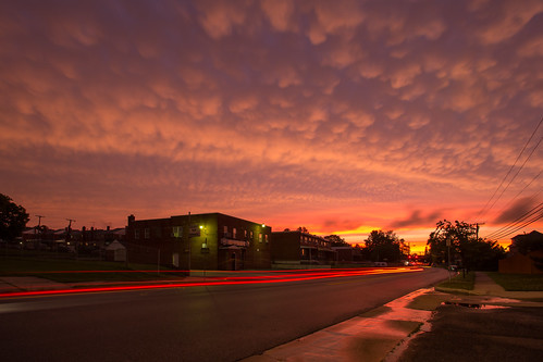 sunset middleriver