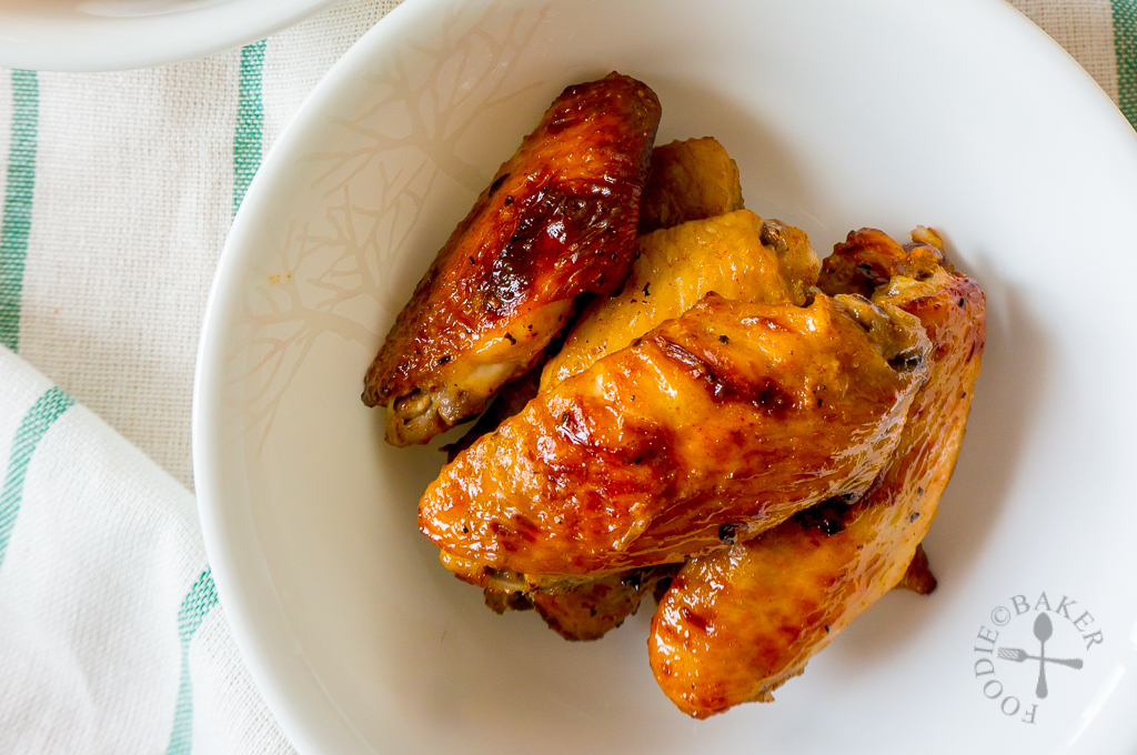 Baked Honey Mustard Chicken Wings