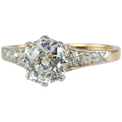 Old Mine cut diamond ring Craig Evan Small