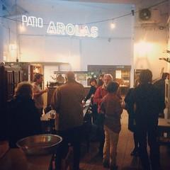 Anoche en la previa de la proyección de #LASALADA de @juanmartinhsu en @laflordebarracas en Ciclo que programo con #Cinevivo
