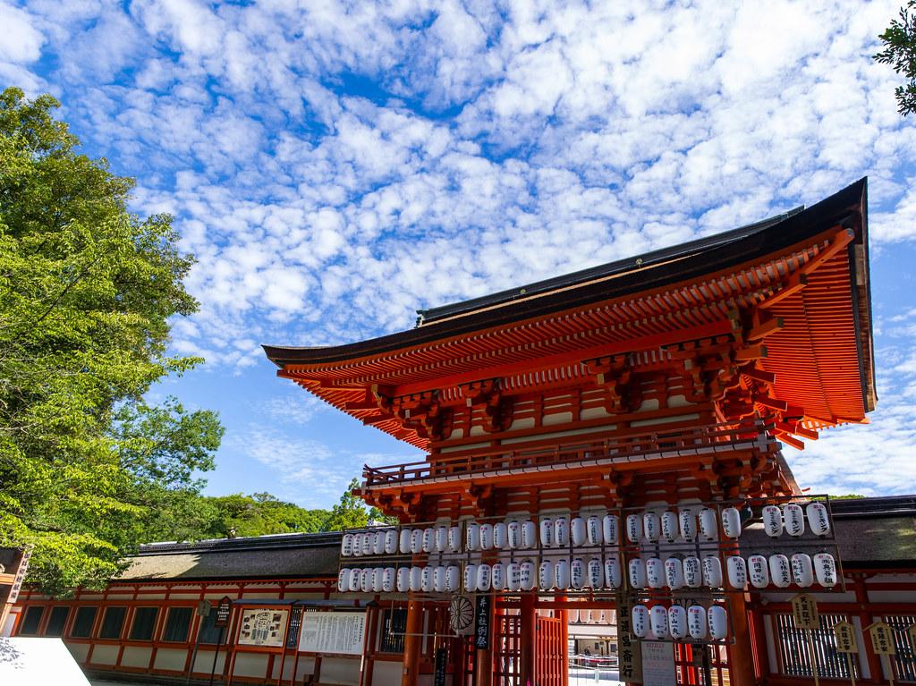 京都 夏空 その2