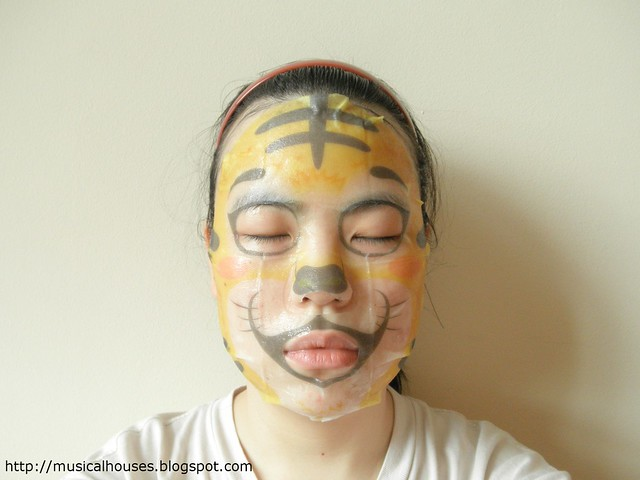 The Face Shop Character Mask FOTD