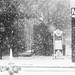 Ballston Metro in snow