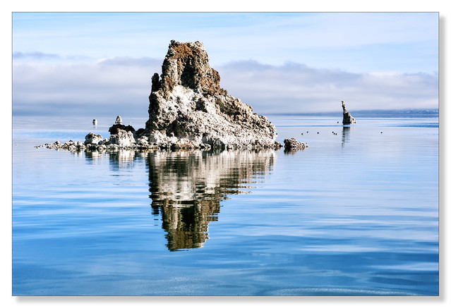 Tufa column, Mono Lake