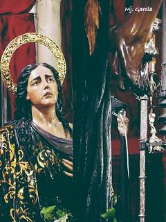 Miradas... Santa Maria Magdalena. (Hiniesta) #BuenasTardes #RecordandoLaCuaresma #Sevilla