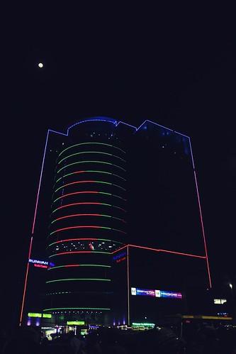 The Digital Flag Tower
