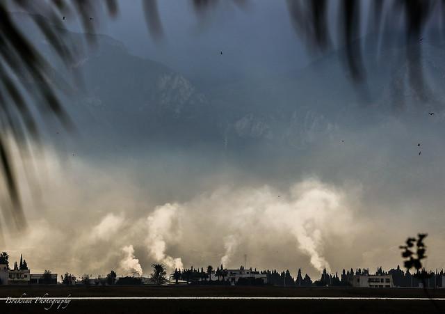La fumée des briqueteries - Tétouan