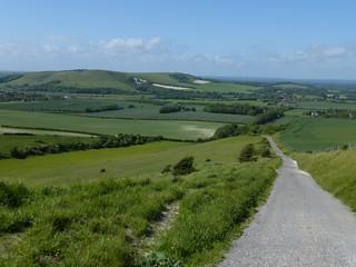 Descending to Glynde (anticlockwise)