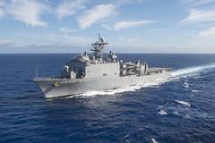 USS Ashland (LSD 48) file photo. (U.S. Navy/MC3 Taylor A. Elberg)