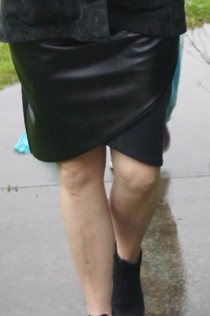 petal skirt and waver jacket