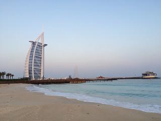Image of Burj Al Arab Open Beach Beach with a length of 1036 meters.