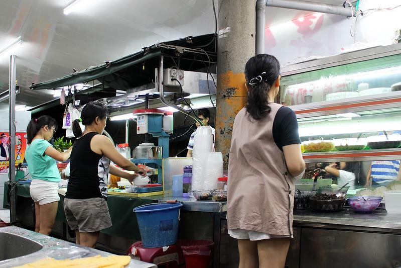 【新北市三重冰店】又飽又涼的剉冰店,專賣傳統米苔目剉冰。巷弄冰店
