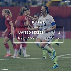 2-0 Final   USA !!!!!!!! #USA vs #GER #teamusa #soccergame #soccer #soccerlife #usasoccerteam #usasoccer #followthem #f4f #followmeplease #like4follow           #SheBelieves
