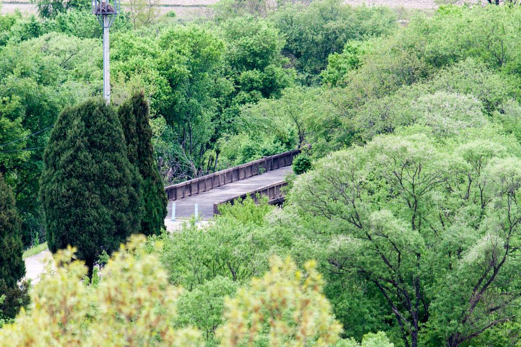 A glimpse of the Bridge of No Return.