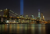 Tribute in Light From Brooklyn 2 by Furst Edition Photo