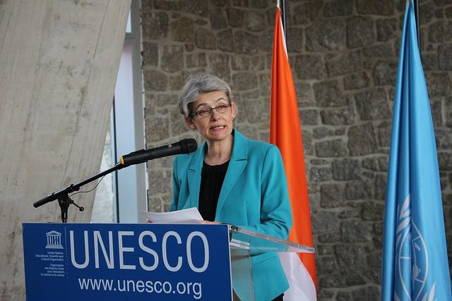 Irina Bokova directrice de l'UNESCO