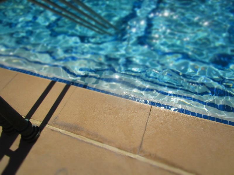 The Bellagio Pool, Summer Day, Gorgeous Fake Tilt Shift