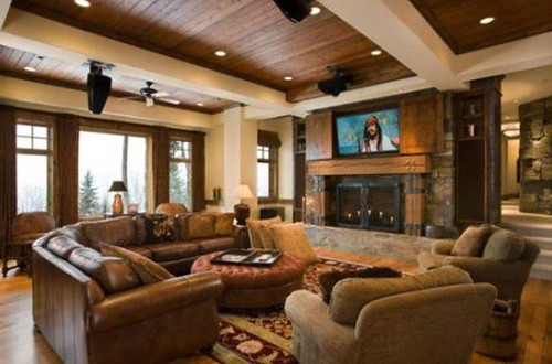 Decorate Your Home with Rustic Living Room Ideas
