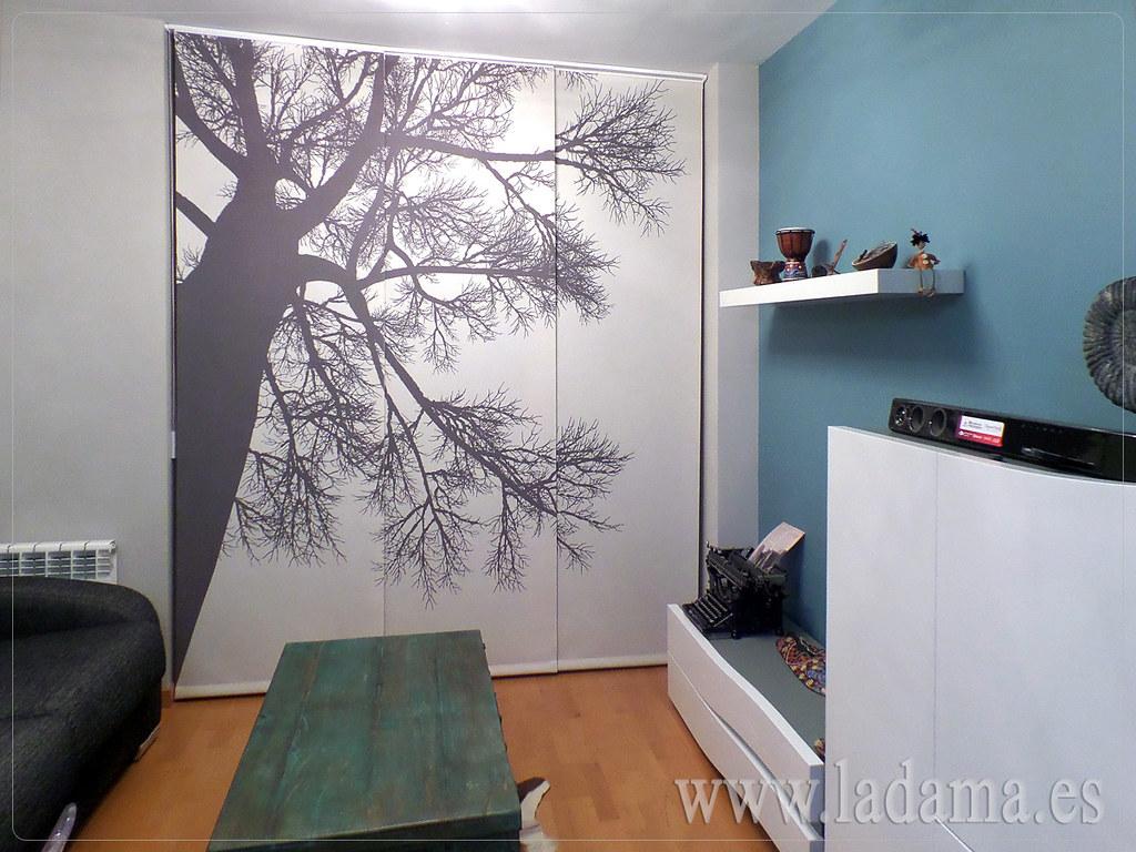 Fotograf as de cortinas en salones modernos la dama - Riel panel japones leroy merlin ...