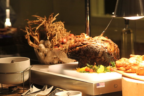 Australian Prime Rib, the Centerpiece of the Buffet