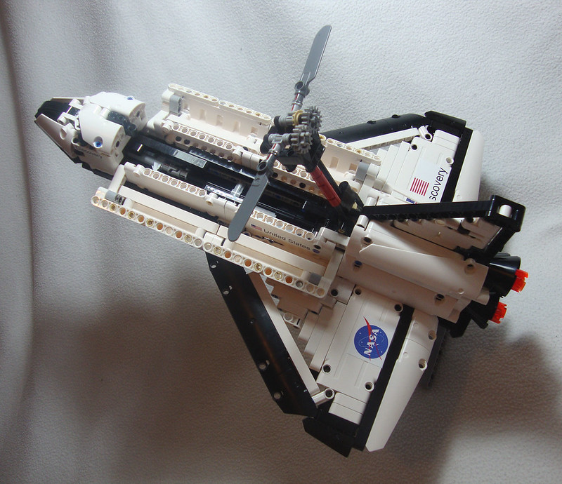lego space shuttle orbiter - photo #12