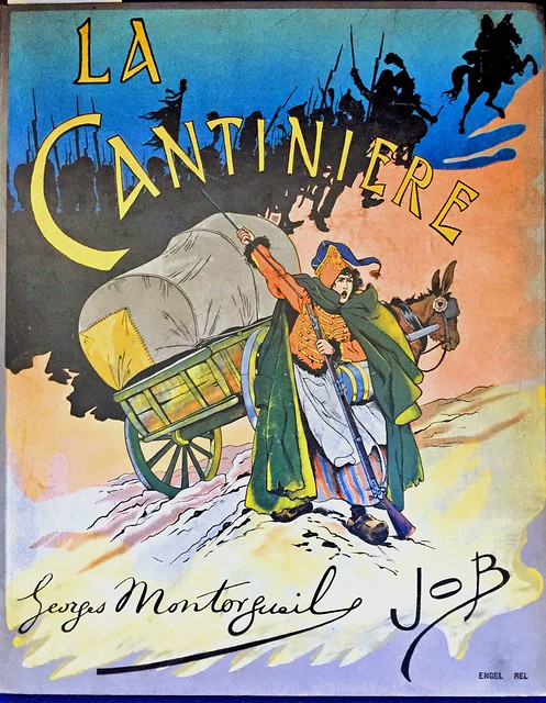 Cover art for La Cantiniere, illustrated by JOB