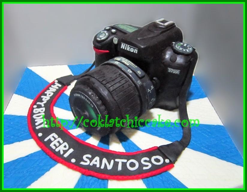 Cake Kamera Nikon