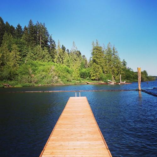 lake canada bc britishcolumbia boardwalk cowichan 加拿大 instagram 卑寺省
