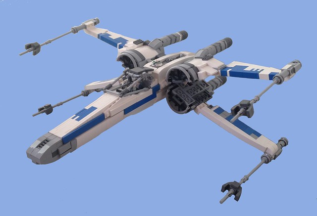 Resistance T-70 X-wing, by Wookieewarrior, on Flickr